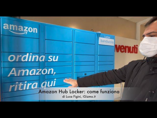 Amazon Locker: ecco come funzionano i punti blu per il ritiro self-service
