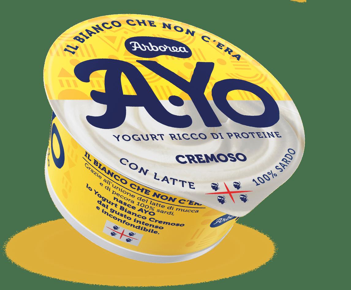 Arborea innova lo yogurt con A.Yo, il primo vasetto vaccino e ovino da latte 100% sardo
