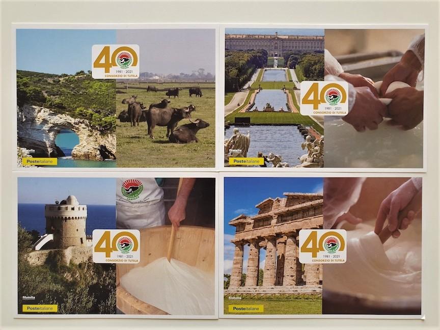 mozzarella di bufala cartoline