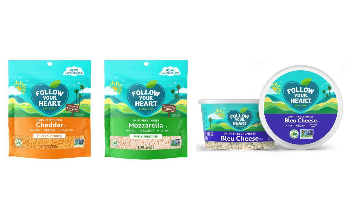 Danone, ancora tre novità nella gamma dairy free: mozzarella, cheddar e bleu cheese